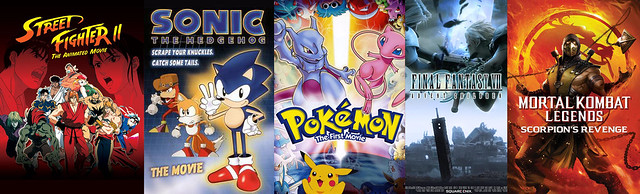 poll what was the best animated movie based on a video game pics
