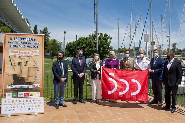 Vela - Presentación de la Travesía Lisboa-Andalucía-Ceuta