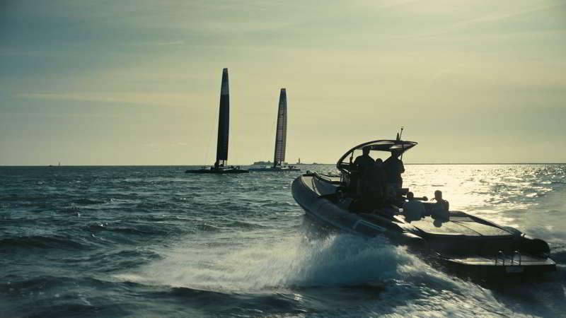 Catamarans SailGP scene