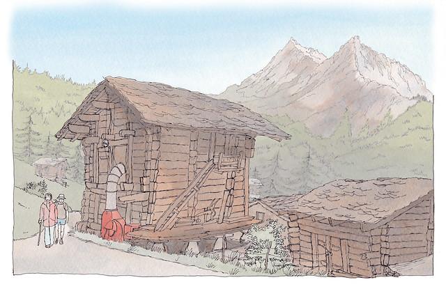Switzerland, Valais, La Sage