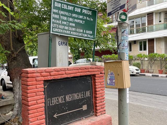 City Walk - Florence Nightingale Lane, Green Park