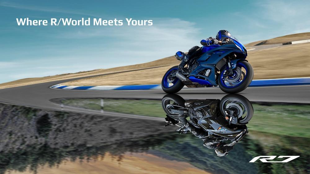 Yamaha YZF-R7 World Premier
