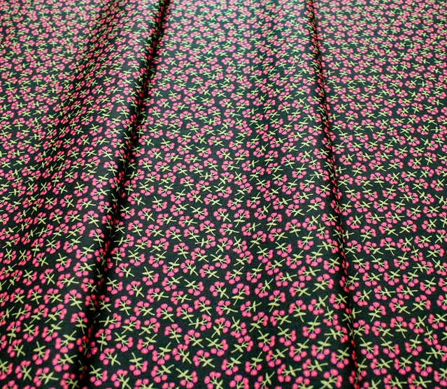 Art Gallery Fabrics Open Heart Sweet Floret Cerise