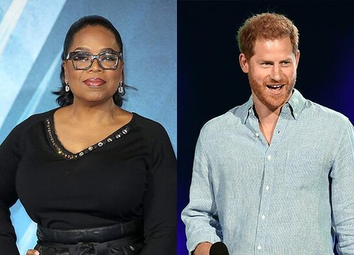Oprah and Prince Harry in a new docu-series about Mental Health