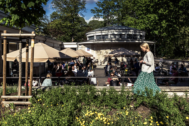 Nature is healing aka Warsaw reopens outdoors