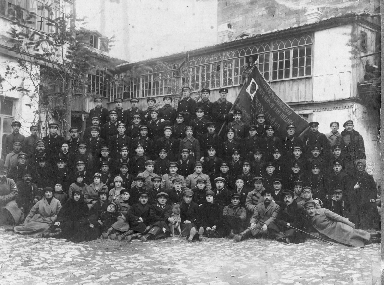 1925. Личный состав Феодосийской окружной милиции