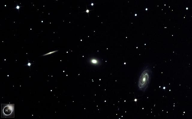 NGC5981, NGC5982 & NGC5985 The Draco Triplet  14/04/21