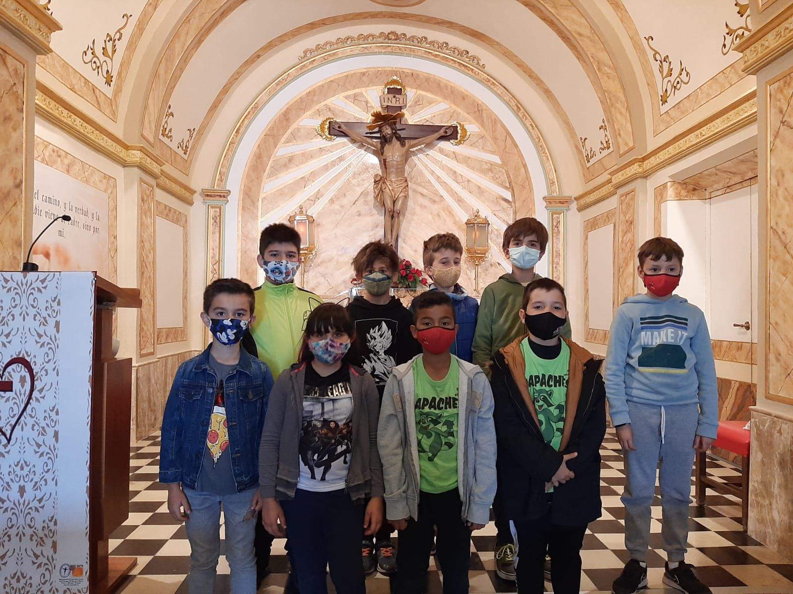 (2021-05-11) - Visita ermita alumnos Laura,3º B, Reina Sofia - Maria Isabel Berenquer Brotons - (03)
