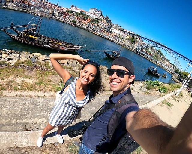 Diario de un Mentiroso en Portugal haciendo una ruta