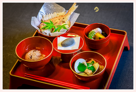 お食い初め料理(膳)