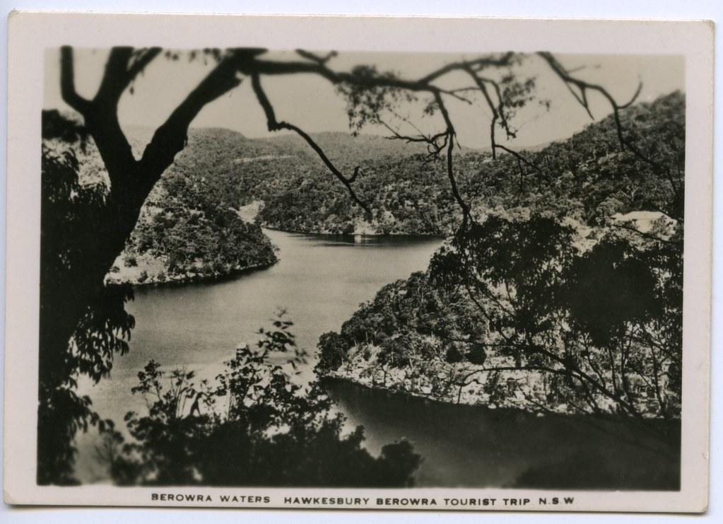Berowra Waters, Hawkesbury Berowa Tourist Trip, N.S.W.
