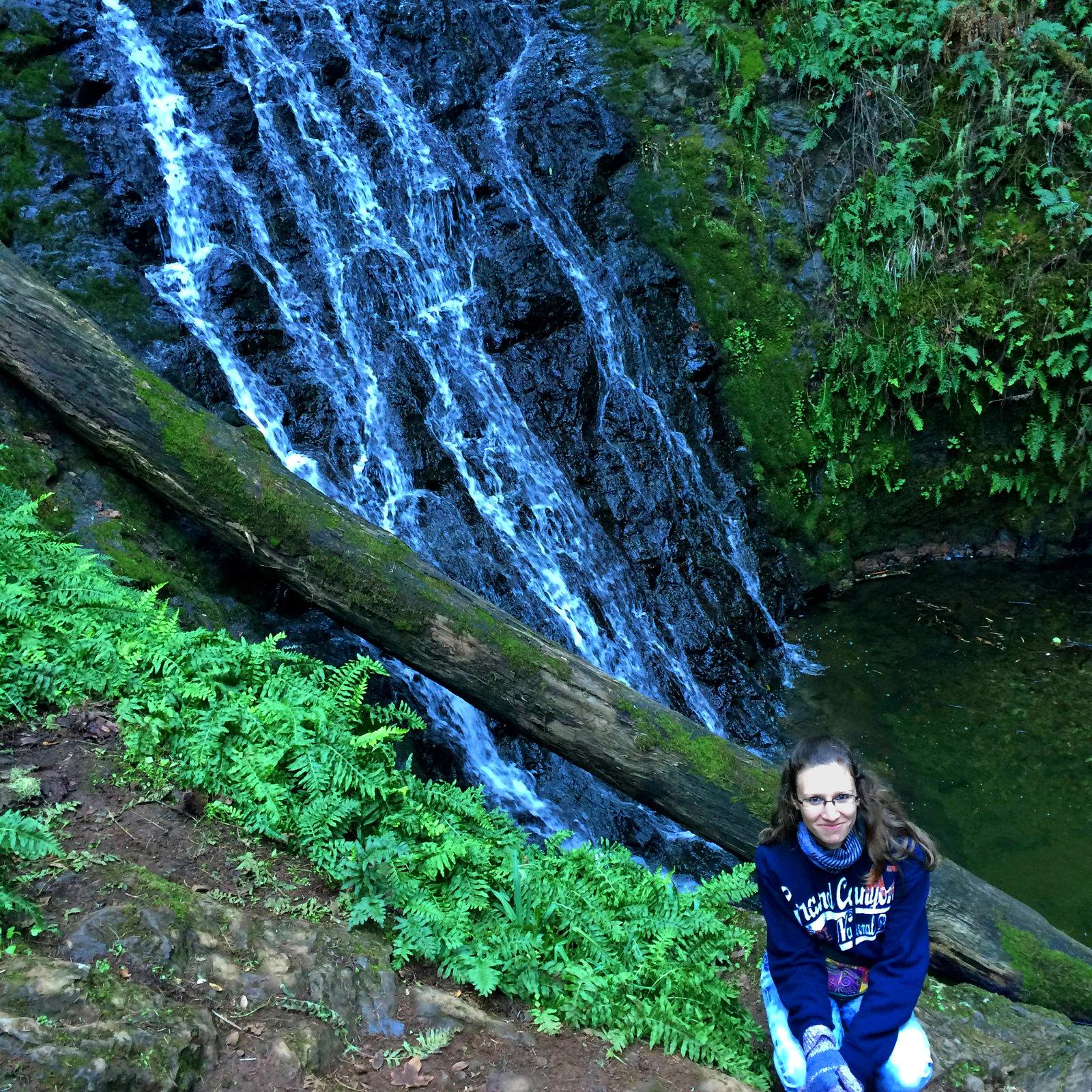 Cataract Falls, Mount Tamalpais State Park, California, USA