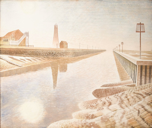 eric-ravilious-rye-harbour, 1938 credit- Image courtesy of the Ingram Collection