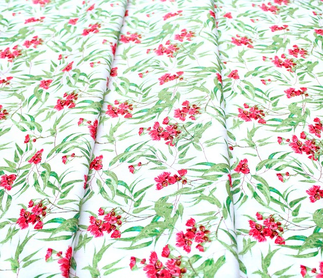 Art Gallery Fabrics Boscage Blooming Eucalyptus