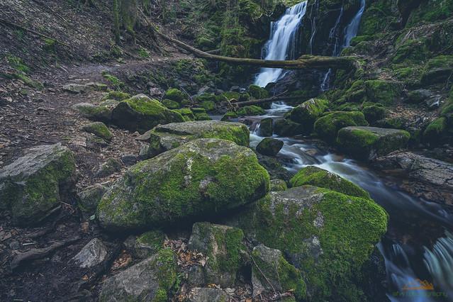 Windbergwasserfall Langzeitbelichtung 2