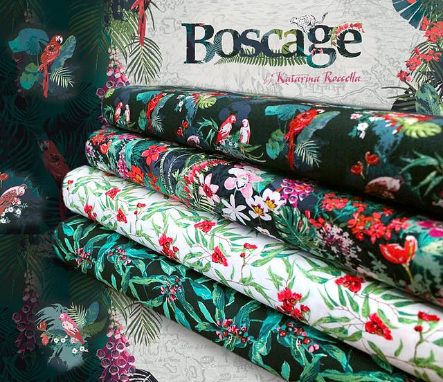 Art Gallery Fabrics Boscage Collection by Katarina Roccella