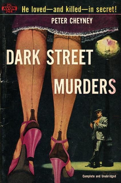 Avon Books 764 - Peter Cheyney - Dark Street Murders