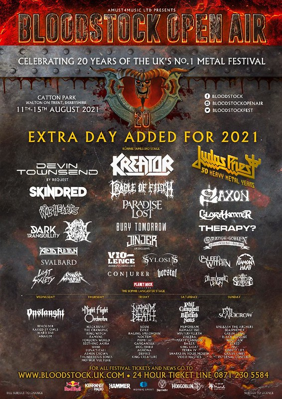 The Countdown Is On! 85 Days to Bloodstock Festival!