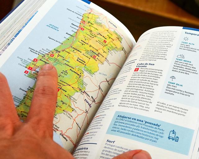Itinerarios y rutas por Portugal