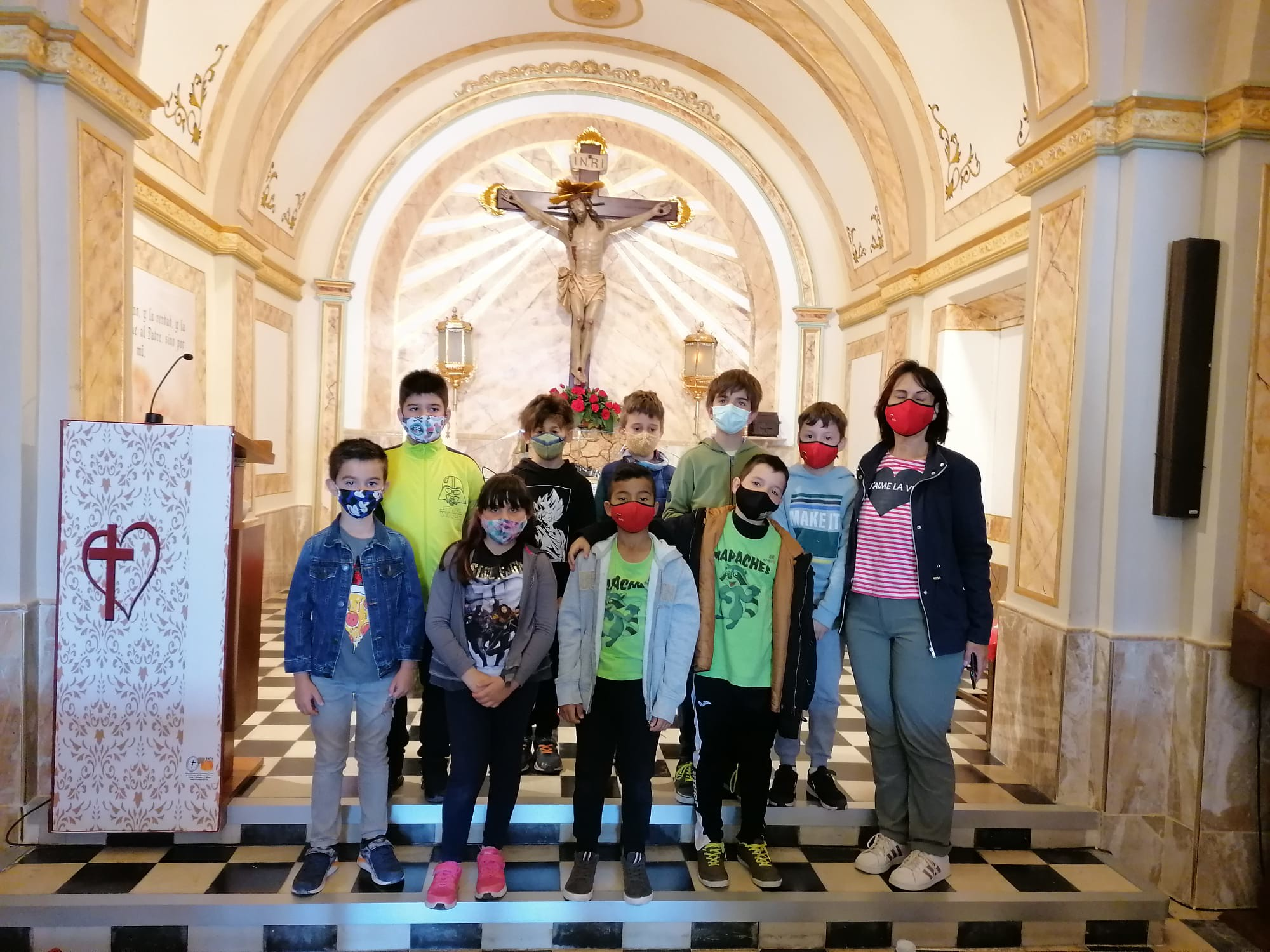 (2021-05-11) - Visita ermita alumnos Laura,3º B, Reina Sofia - Maria Isabel Berenquer Brotons - (02)