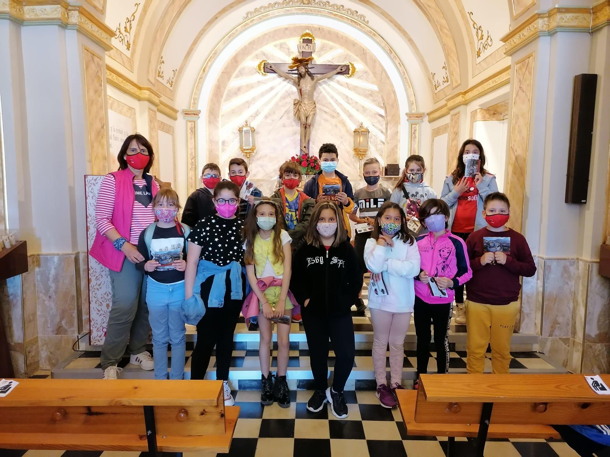 (2021-05-11) - Visita ermita alumnos Laura,3º C, Reina Sofia - Maria Isabel Berenquer Brotons - (01)