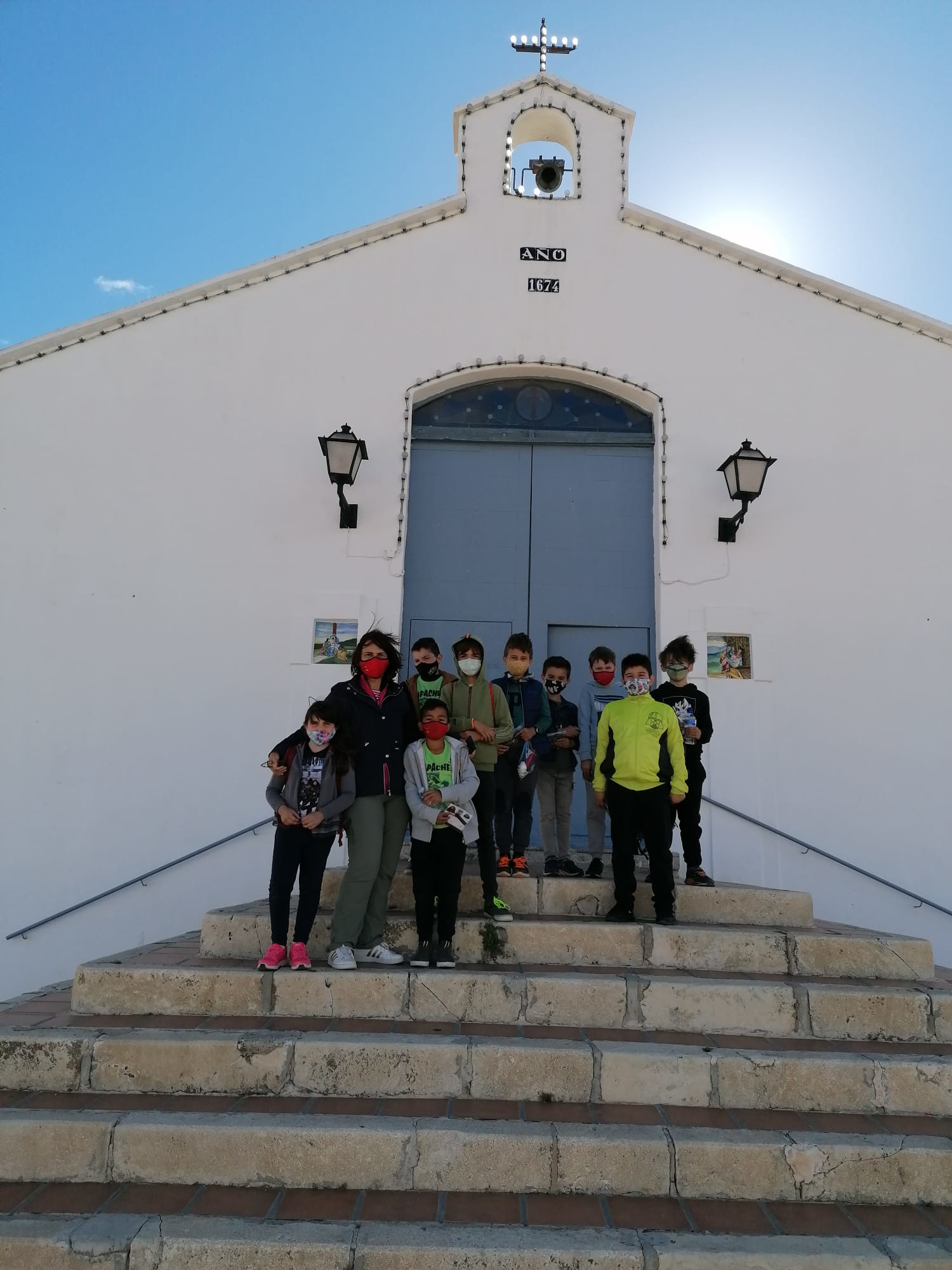 (2021-05-11) - Visita ermita alumnos Laura,3º B, Reina Sofia - Maria Isabel Berenquer Brotons - (01)