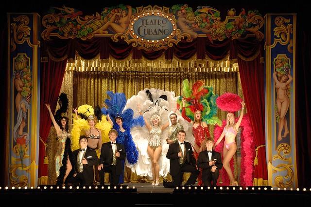 Projeccions dels espectacles teatrals de La Cubana al Cinema Prado