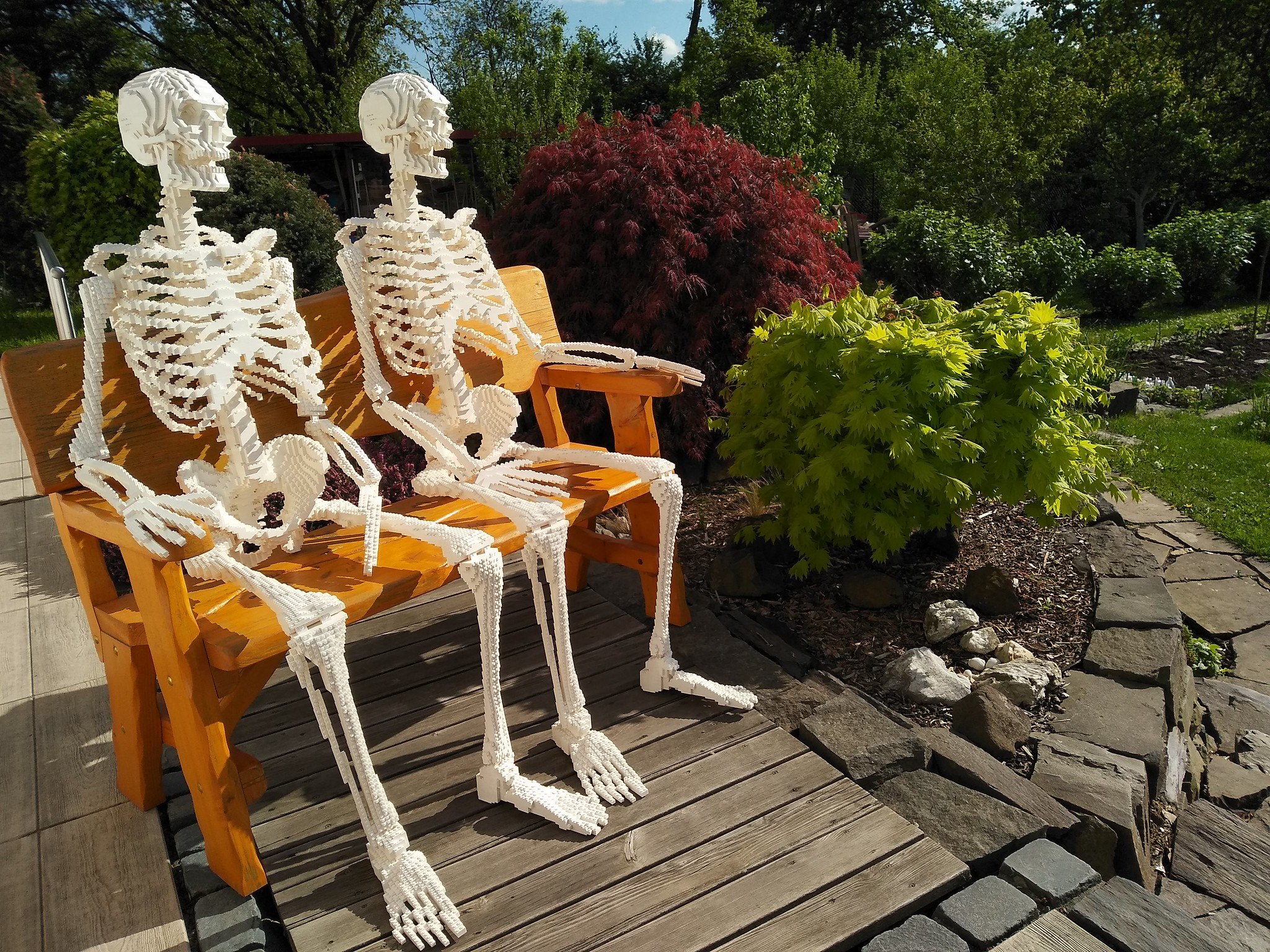 LEGO skeletons
