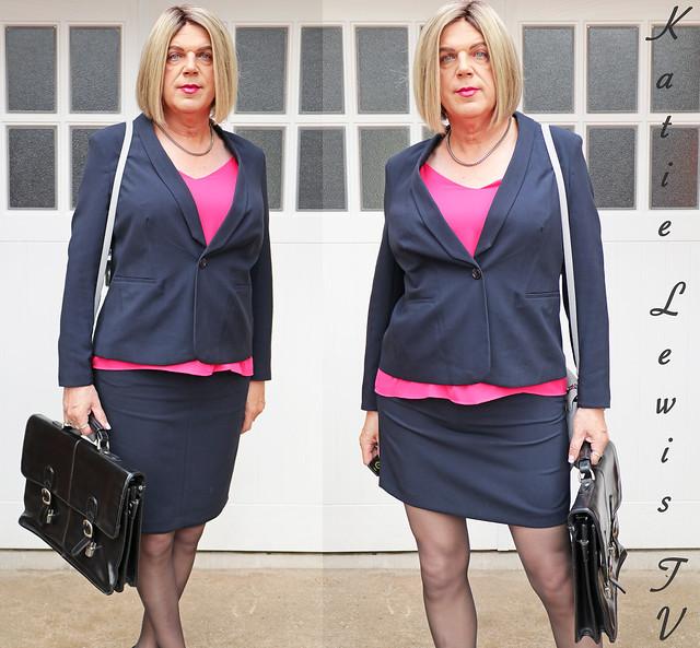 Matalan suit; long & short skirt.