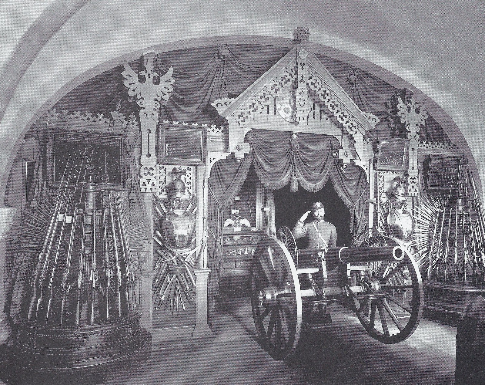 1903. Артиллерийский музей. Экспозиция Русского зала