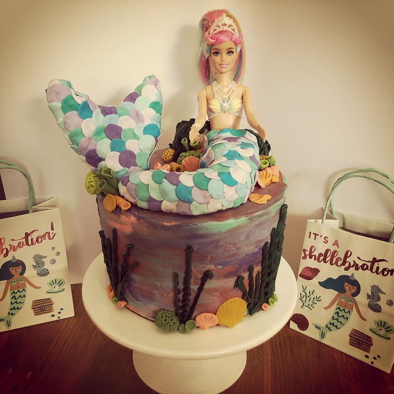 Cake by Sweet Auntie Ray's Bakery