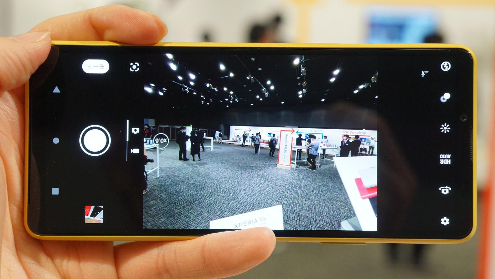 Xperia 10 IIIのカメラ。超広角レンズの0.6倍で撮影