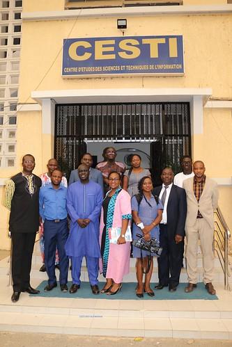 VISITE DE LA DÉLÉGATION DU MINISTÈRE DE LA COMMUNICATION DU BURKINA FASO AU CESTI