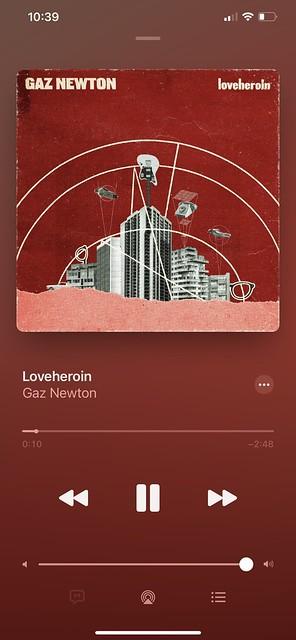 Gaz Newton - Loveheroin [LP] - Apple Music player