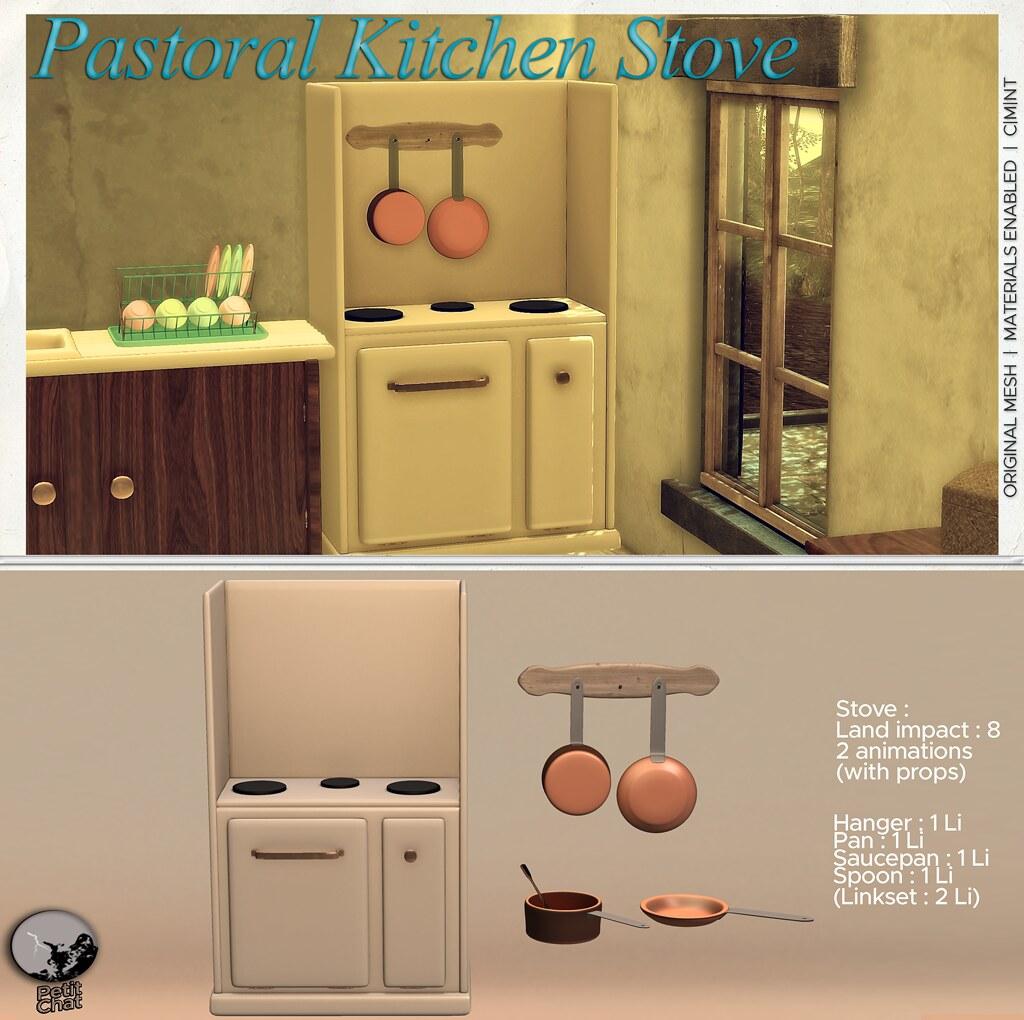 New release : Pastoral Kitchen Stove @ Uber Hometown