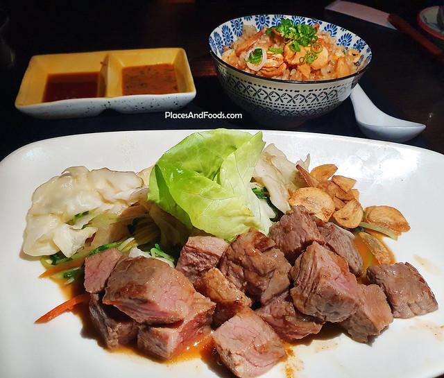 ishin japanese dining beef teppanyaki