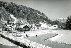 postcard - lago di costalovara - renon - bolzano - 1965