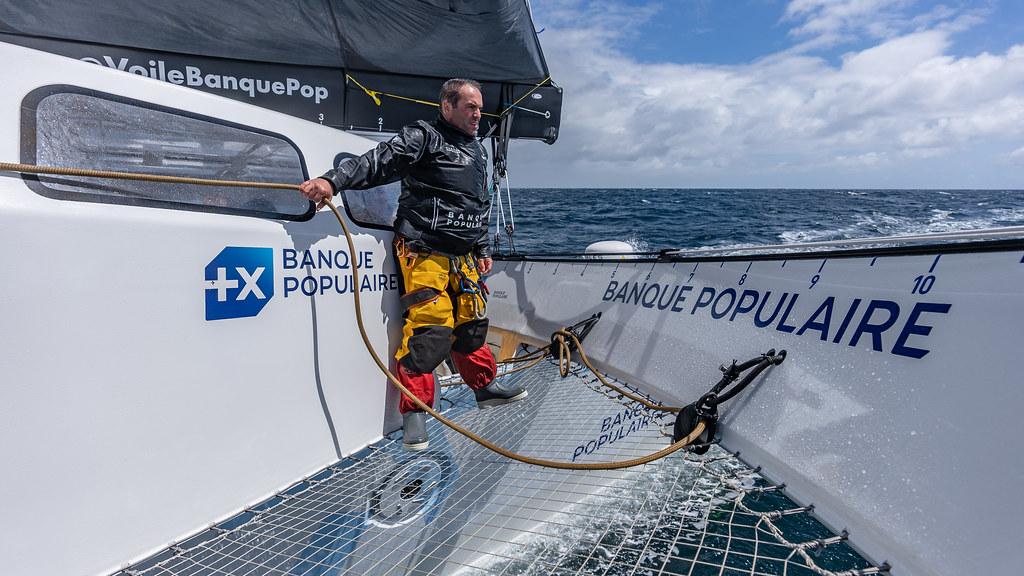 Maxi Banque Populaire XI - Navigations