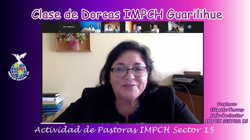 Clase de Dorcas en IMPCH Guarilihue