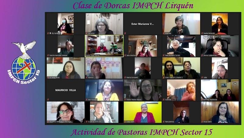 Dorcas IMPCH Lirquén reciben especial visita