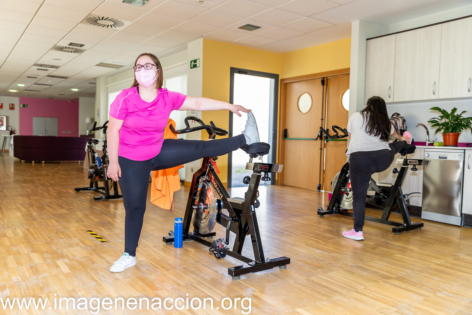 """DOWN MADRD """" CLASE DE SPINNING"""""""