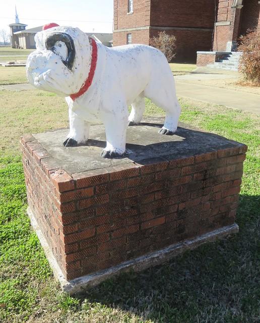 Old Earle High School Bulldog (Earle, Arkansas)