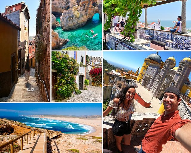 Ruta e itinerario por Portugal en 7 días
