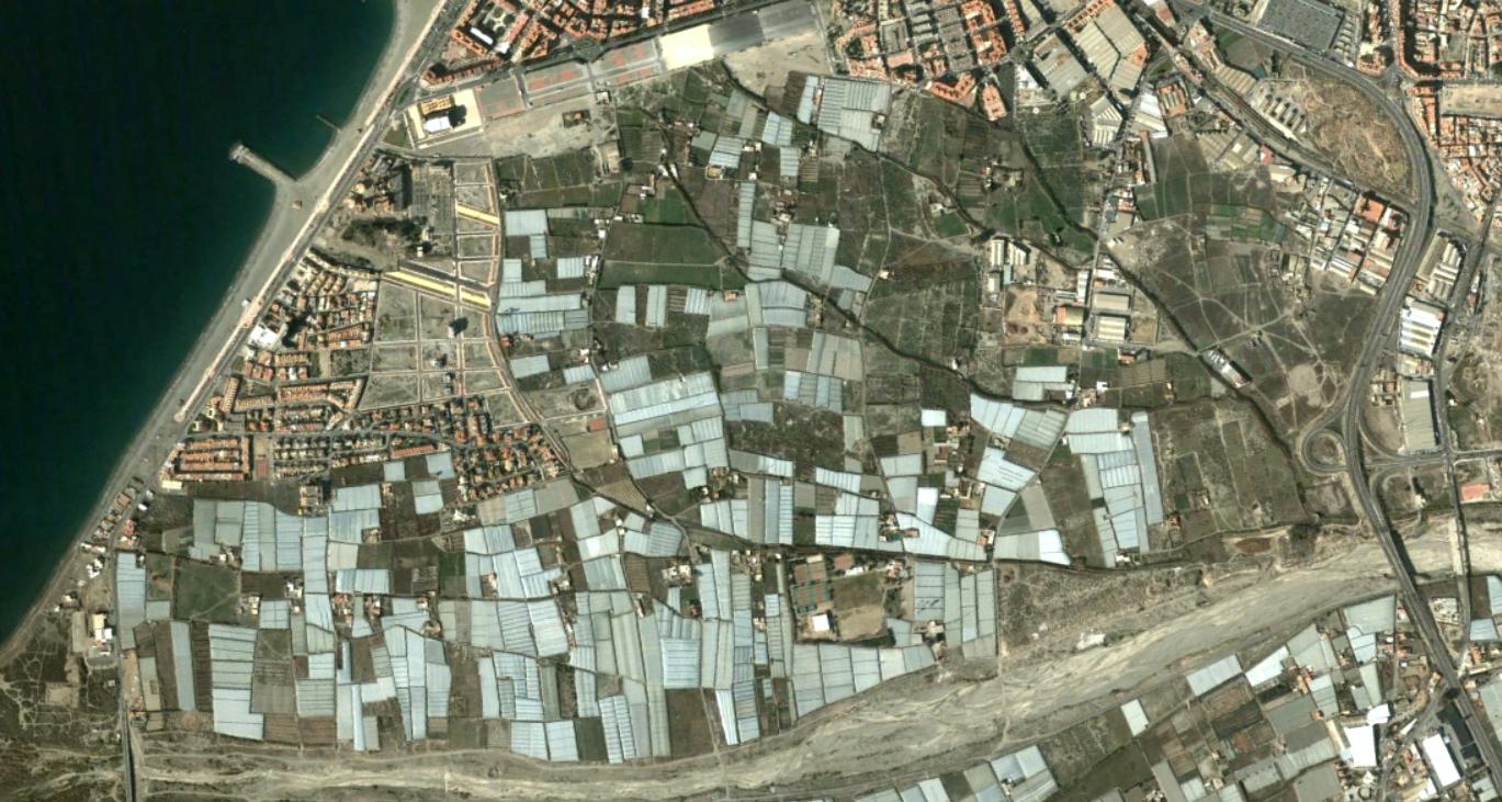 almería (sureste), almería, estadio de los juegos mediterráneos, antes, urbanismo, planeamiento, urbano, desastre, urbanístico, construcción