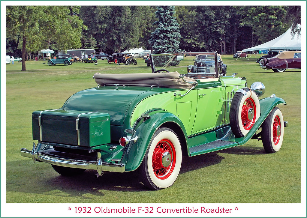 1932 Oldsmobile F-32 Convertible Roadster