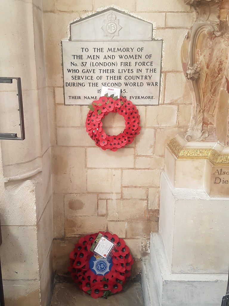 No. 37 London Fire Force WW2 Memorial
