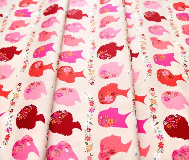 Art Gallery Fabrics Open Heart Unique Beauty Vivid