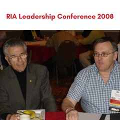This photo was taken at the RIA Leadership Conference in 2008