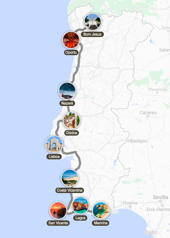 Ruta por Portugal en una semana
