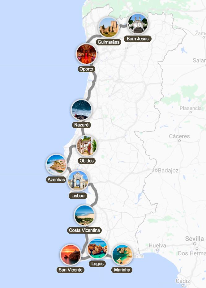 Mejor ruta por Portugal en 10 días